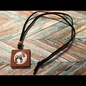 Moose & Bear necklace